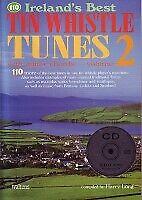 110 IRELAND'S BEST TIN WHISTLE TUNES 2 Book & CD