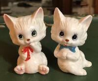 Vintage brinns bone china playful Kittens Set Of 2