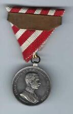 Orden Österreich Silber Medaille DER TAPFERKEIT mit Wiederholungsspange Band