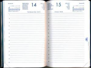 CALENDRIER - Agenda Journalier 2021 - 1 page par Jour 14 x 21,5 cm