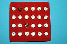 1 Set PEDINE IN METALLO DIAMETRO 10 mm SCACCHI SCACCHIERA Fai da te DAMA