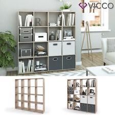Vicco Karree 138,5x142,5x29cm 16-Fächer  Raumteiler  - Eiche Sonoma