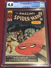 AMAZING SPIDER-MAN 22 CGC 4.0 Stan Lee Steve Ditko 1965