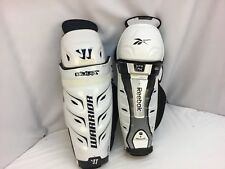 Warrior Bully Reebok 7K Hockey Shin Guards 15 Inch Mismatch NWT IHH YGI SH53