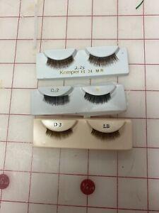 New Doll Eyelashes 3 Pair