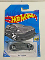 2020 Hot Wheels Factory Fresh 9/10 Tesla Model 3 Grey #112/250 NIP