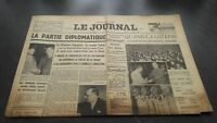 """ The Journal "" Edition Of 5 Heures Antique N° 17324 Mardi 26 Mars 1940 ABE"