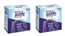 Retainer Brite 36 Tablets, Mouth guard Denture Dental Cleaner Plaque remover - 2