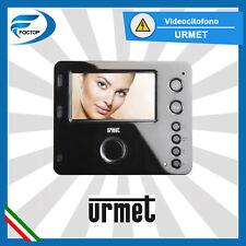 URMET 1750/15 KIT VIDEOCITOFONO CITOFONO 2 FILI VIDEO CON MONITOR A COLORI 4.3