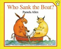 Who Sank the Boat?, Paperback by Allen, Pamela, Brand New, Free P&P in the UK