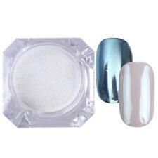 Shiny Mirror Powder Rose Gold Champagne Silver Nail Art Glitter Chrome Pigments
