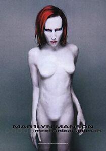 Marilyn Manson Mechanical Animals Large Textile Flag 1100mm x 750mm (hr)