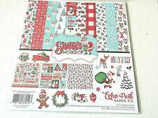 Echo Park Santas Workshop 12x12 Collection Kit Paper Stickers Christmas