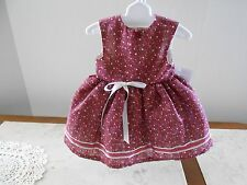 """Dress made for 18"""" American Girl Doll or Similar Size Doll"""