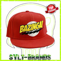 BAZINGA THE BIG BANG THEORY KULT LOGO SNAPBACK CAP BEANIE HATS SYLT HAT BRANDS