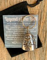 MD GUARDIAN Bell of Good Luck fortune pet keychain gift medical doctor friends
