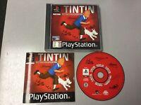 Playstation 1 Ps1 Tintin Destination Adventure
