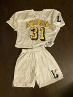 Men's Lycoming Lacrosse Jersey And Shorts Uniform XL #31