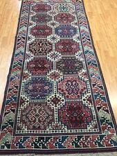 4' x 8' Antique Turkish Runner Oriental Rug - 1930's - Hand Made - 100% Wool