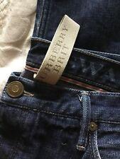 "Burberry Brit Straight  Button-Fly Denim Jeans size (W) 34"" x (L) 34"""