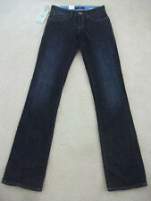 Ladies size 24 / 32 Dark denim MAVI MONA Mid Rise Straight Jeans  -*NEW RRP $139