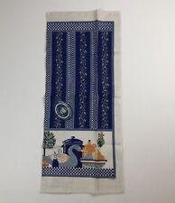 VTG NWT Yale and Frances FOREMAN Duck/Kitchen Scene 100% Linen Towel