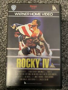 ROCKY IV ROCKY 4 WARNER BROS ORIGINAL BIG BOX RELEASE RARE & DELETED EMBOSSED
