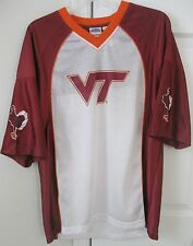 Virginia Tech Hokies Sports Jersey Medium Licensed