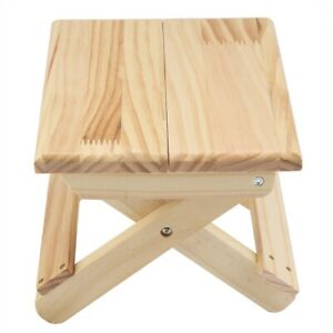 Bench Wood Bench Sturdy Table Legs for Outdoor Fishing Household