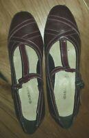 Ladies Shoes Size 5 Brown Damart <MJ3648