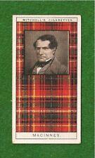 The Clan Macinnes or Aonghais Kinsmen of MacDonalds original 1927 card