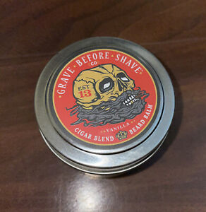 Grave Before Shave Beard Butter (Cigar Blend) Vanilla BRAND NEW