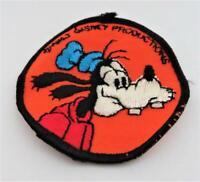 "Walt Disney Productions, WDP, GOOFY, Cloth Patch, 3"""