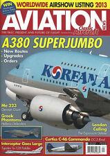 AVIATION NEWS / CLASSIC AIRCRAFT APR 13 GREEK F-4 PHANTOM_Me323_Tu-128_C-46_A380