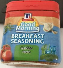MCCORMICK GOOD MORNING BREAKFAST SEASONING GARDEN HERB 1.44oz