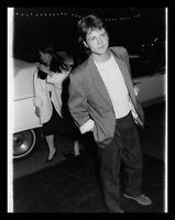 Lot of (9) 1980s MICHAEL J FOX & WHOOPI GOLDBERG Vintage Original Photos