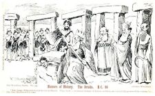 Postcard Early Comedy Humors of History The Druids BC 96 Dated 1904 22