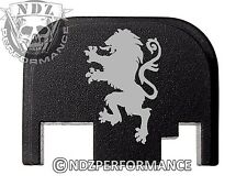 for Glock Rear Plate 17 19 21 22 23 27 30 34 36 41 Blk G1-4 Griffin