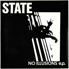 The State No Illusions ep Havoc Records pressing