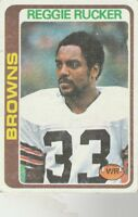 FREE SHIPPING-GOOD TO FAIR-1978 Topps  #473 Reggie Rucker BROWNS