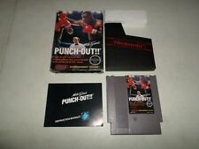 Mike Tyson's Punchout COMPLETE BOX   - NINTENDO NES FAST SHIPPING!  127