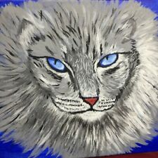 11�x14� Acrylic Painting of A Norwegian Forest Cat
