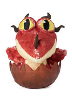 "How to train your Dragon 3 The Hidden World red hookfang egg 3"" plush inside"