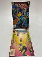 The Uncanny X-Men AUGUST + X-Men Classic #107 May Dexluxe Marvel Comics Set Of 2