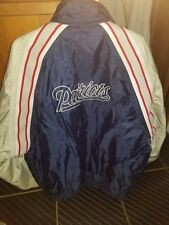 New England Patriots Reebok XL Blue/Tan jacket
