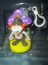 The Smurfs HACKUS FIGURE Swappz SPP FOR IPHONE BACKPACK CLIP NEW NO BOX OR COIN