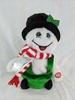 Dan Dee Animated Snowman Plush Sings Lights Moves Let It Snow Stuffed Animal Toy
