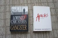Lorenzo Carcaterra Books Lot Of 2 Hard Cover Books