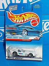 Hot Wheels 1998 First Editions #19 Panoz GTR-1 White w/ Blue Int & China Base
