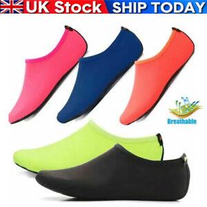 Quick Dry Water Shoes Mens Womens Kids Aqua Socks Beach Swim Non Slip Wetsuit